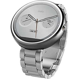 Moto 360 - Metal Slim Band - Light Finish