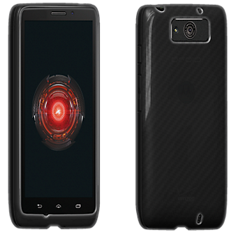 VZW High Gloss Silicone Case for MAXX - Black