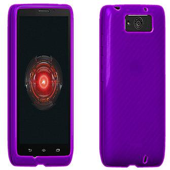 VZW High Gloss Silicone Case for MAXX - Purple