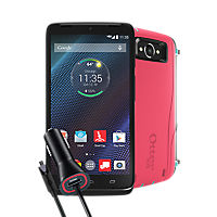 OtterBox Defender Bundle for DROID Turbo - Teal Rose