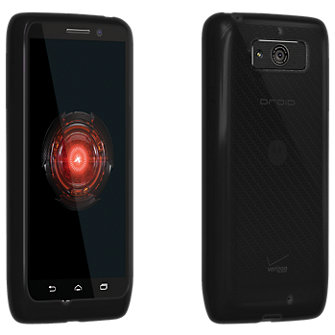 VZW High Gloss Silicone Case Droid Mini - Black