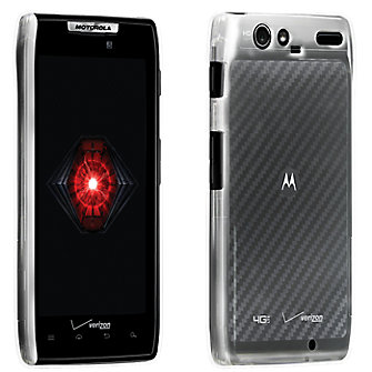 Clear Hard Snap On Cover for Droid RAZR