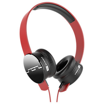 Tracks Headphones by SOL REPUBLIC - Vivid Red