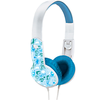 Maxell Safe Soundz Ages 3-5 Headphones - Blue