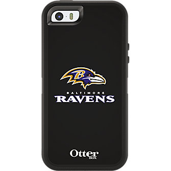 NFL Defender by OtterBox for Apple iPhone 5/5s - Baltimore Ravens