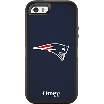 NFL Defender by OtterBox for Apple iPhone 5/5s - New England Patriots