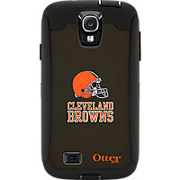 NFL Defender by OtterBox for Samsung Galaxy S4 - Cleveland Browns