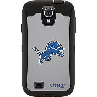 NFL Defender by OtterBox for Samsung Galaxy S4 - Detroit Lions