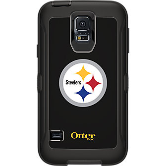 NFL Defender by OtterBox for Samsung Galaxy S5 - Pittsburgh Steelers