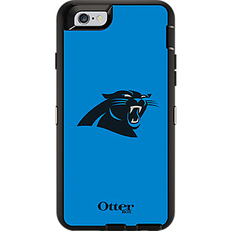 NFL Defender by OtterBox for iPhone 6 - Caroline Panthers