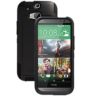 OtterBox Commuter Series for the all new HTC One (M8) - Black