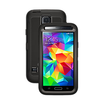 OtterBox Defender Series for Samsung Galaxy S 5 - Black