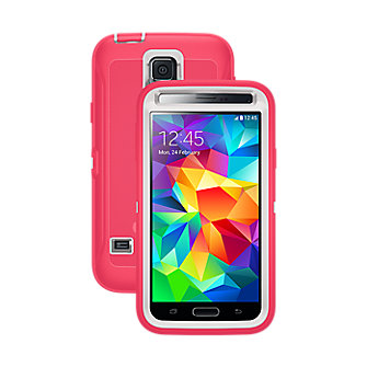 OtterBox Defender Series for Samsung Galaxy S 5 - Neon Rose
