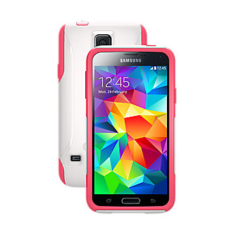 OtterBox Commuter Series for Galaxy S 5 - Neon Rose
