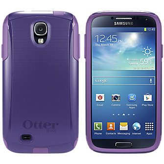 OtterBox Commuter Series for Samsung Galaxy S 4 - Purple