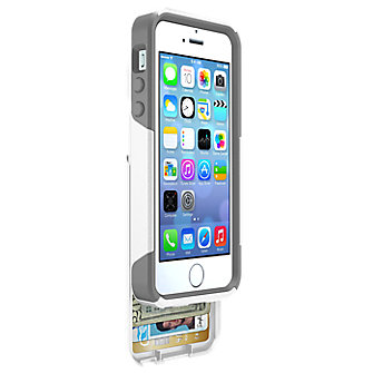 OtterBox® Commuter Series® Wallet for iPhone® 5/5s - White