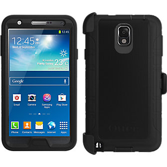 OtterBox Defender Series for Samsung Galaxy Note 3- Black