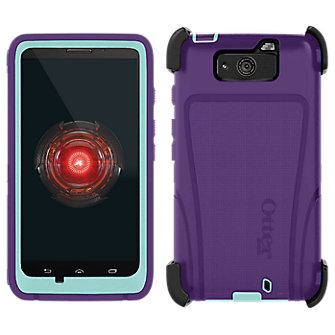 OtterBox Defender Droid MAXX - Purple with Blue