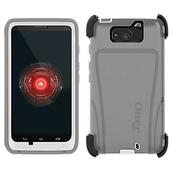 OtterBox Defender Droid MAXX - White with Gray