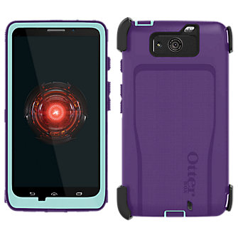 OtterBox Defender Droid ULTRA - Purple with Blue