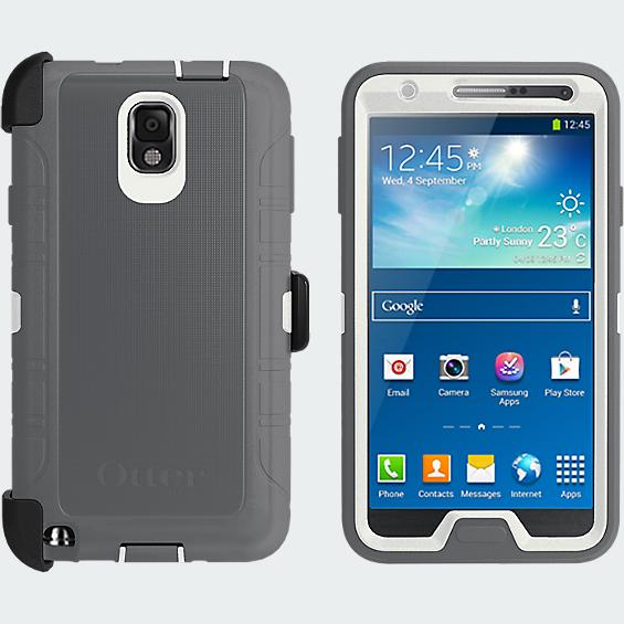 OtterBox Defender Series for Samsung Galaxy Note 3 - Glacier - White