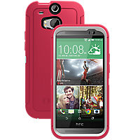 OtterBox Defender Series for the all new HTC One (M8) - Neon Rose