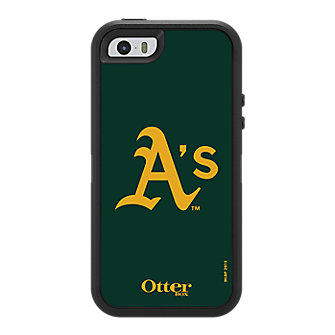 OtterBox Defender Series for iPhone 5/5s - Oakland A's