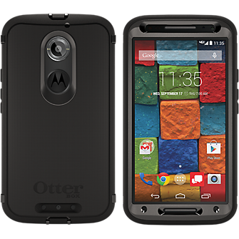 OtterBox Defender Series for the Moto X 2nd Gen - Black