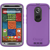 OtterBox  Defender Series  for the Moto X 2nd Gen - Plum Punch