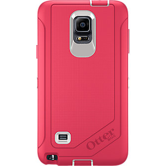 OtterBox Defender Series for Galaxy Note 4 - Neon Rose