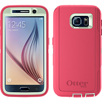 OtterBox Defender Series for Samsung Galaxy S 6 - Melon Pop