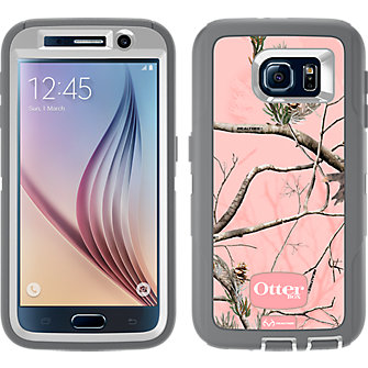 OtterBox Defender Series for Samsung Galaxy S 6 - Realtree AP Pink