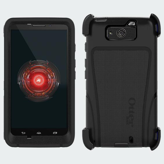 OtterBox Defender Droid MAXX - Black - Purple