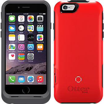 OtterBox Resurgence Power Case for Apple iPhone 6 - Cardinal