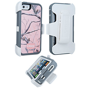 OtterBox® Defender Series® Rugged Case - Pink Camo