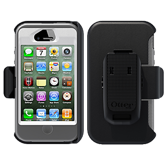 OtterBox Defender Rugged and Drop Protective Case - White & Gray