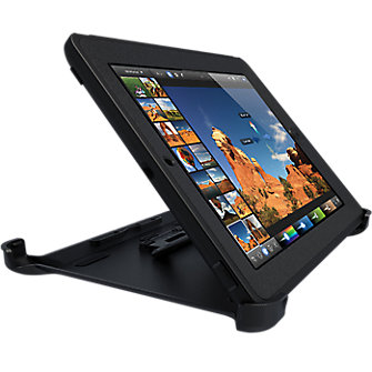 OtterBox Defender Rugged w/ stand - Black
