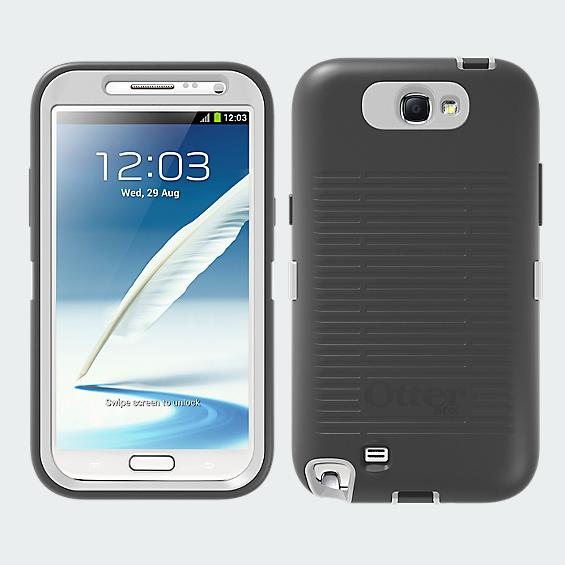 OtterBox Defender Series for Samsung Galaxy Note II - White