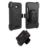 OtterBox Defender Series Rugged Case for DROID DNA by HTC - Black
