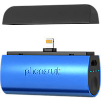 PhoneSuit Flex XT Pocket Charger for iPhone and iPod - Blue