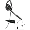 Plantronics Corded Headset - Over-Head or Over-Ear w/Boom Mic