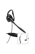 Plantronics Corded Headset - Over-Head or Over-Ear w/Boom Mic Picture