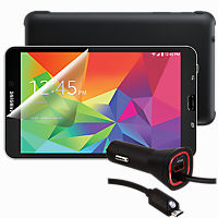 Premium Travel Bundle for Samsung Galaxy Tab 4 8.0