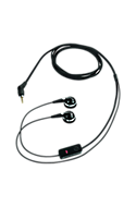 PTT Stereo Headset - for Devices with 2.5MM and 5-pole audio connector Picture