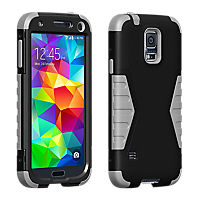 Rugged Case for Galaxy S 5 - Black/Gray