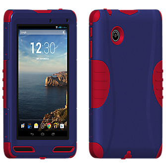 Rugged Cover for Ellipsis 7 - Blue/Red