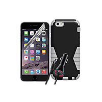 Rugged Bundle for Apple iPhone 6 Plus - Black