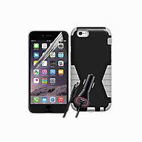 Rugged Bundle for Apple iPhone 6 Plus - Black