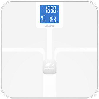 Runtastic Libra Body Mass Index Scale - White