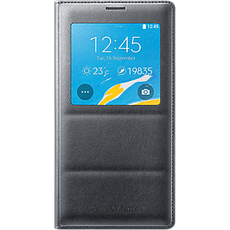s-view-flip-cover-for-samsung-galaxy-note-4-charcoal-iset-note4sviewchar